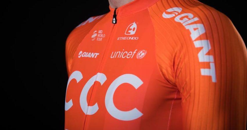 W grudniu CCC zaprezentowało stroje na sezon 2019 (fot. facebook.com/CCCProTeam).