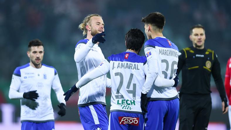 Po trzech zwycięstwach z rzędu Lech jest na fali.