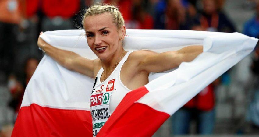 Choć jeszcze do niedawna Justyna Święty-Ersetic nie myślała o starcie na mistrzostwach, to, jak sama przyznaje, jest w tak dobrej formie, że szkoda byłoby nie wykorzystać takiej szansy. (źródło: Matthias Schrader/AP)