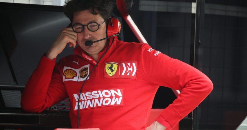 Mattia Binotto musi znaleźć rozwiązanie problemów Ferrari. (źródło: formulapassion.it)
