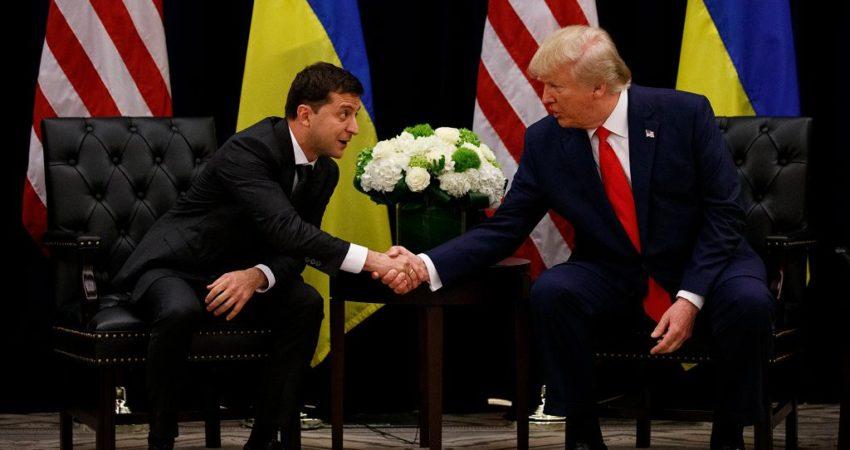 Wizyta prezydenta Ukrainy w Stanach Zjednoczonych. // fot. Evan Vucci